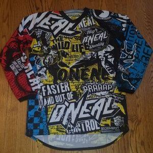 ONeal motor cross sports shirt size medium